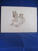 Memories Last Forever Pyrography