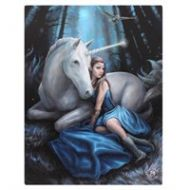 Blue Moon canvas by Anne Stokes