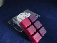 Plum, Rose and Patchouli 6 Square Wax Melts