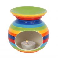 Rainbow Stripe Burner
